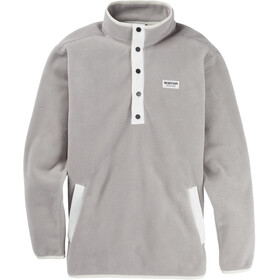 Burton Hearth Pull En Polaire Homme, iron gray